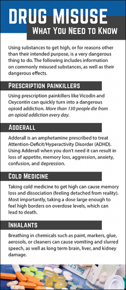 Drug Misuse - What You Need to Know