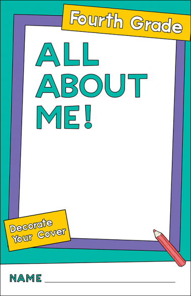 All About Me Fourth Grade Activity Booklet