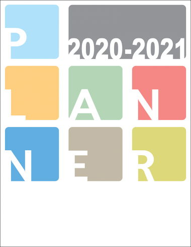 Academic Planner Large 2020-21