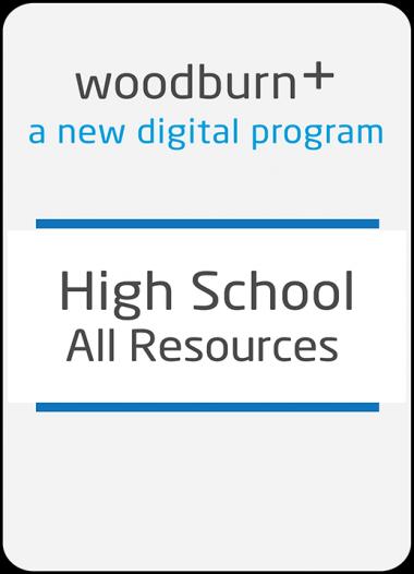Woodburn Plus High School All Resources Digital Package