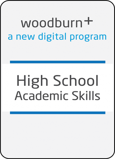 Woodburn Plus High School Academic Skills Digital Resources Package
