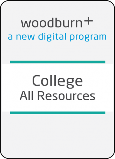 Woodburn Plus College All Digital Resources Package