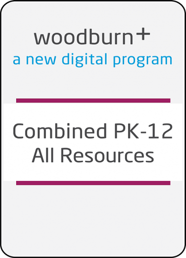 Woodburn Plus Combined PK-12 All Digital Resources Package
