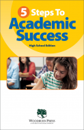 5 Steps To Academic Success High School Booklet Handout