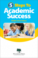 5 Steps to Academic Success Middle School Booklet Handout