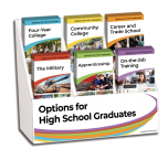 Options for High School Graduates InfoGuide Display Package