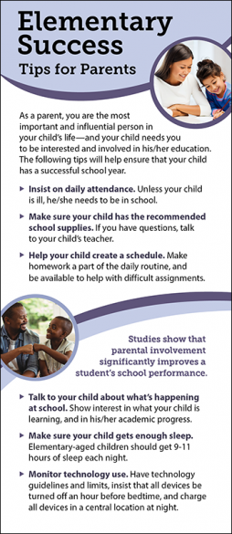 Elementary Success - Tips for Parents