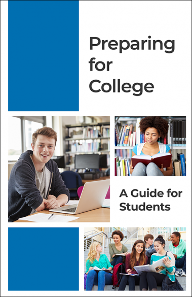 Preparing for College - A Guide for Students Booklet Handout