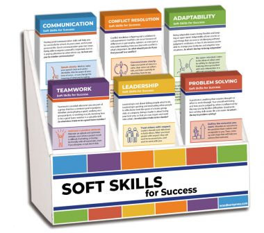 Soft Skills Rack Card Display Package