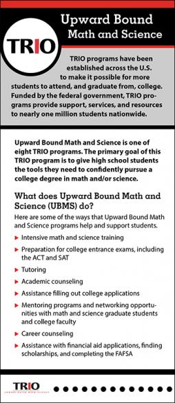 TRIO Upward Bound Math and Science