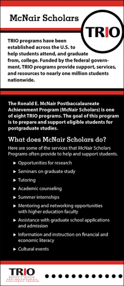 TRIO McNair Scholars