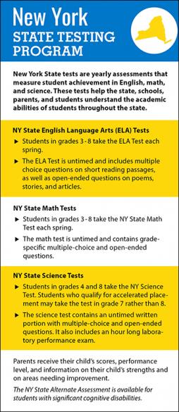 New York State Testing Program Handout