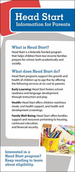 Head Start Handout