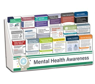 Mental Health Awareness Complete Rack Card Display Package