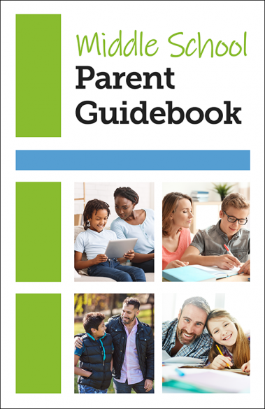 Middle School Parent Guidebook Booklet Handout