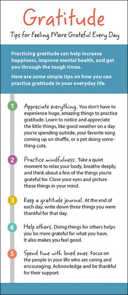 Gratitude Rack Card Handout