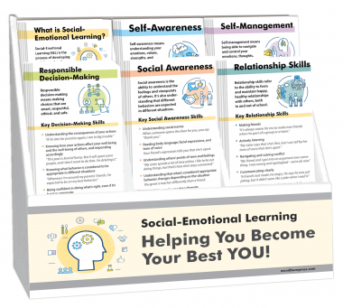 Social Emotional Learning Rack Card Display Package