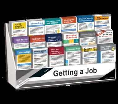 Getting a Job Rack Card Display Package
