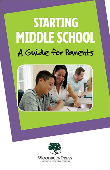 Starting Middle School A Guide for Parents Booklet Handout