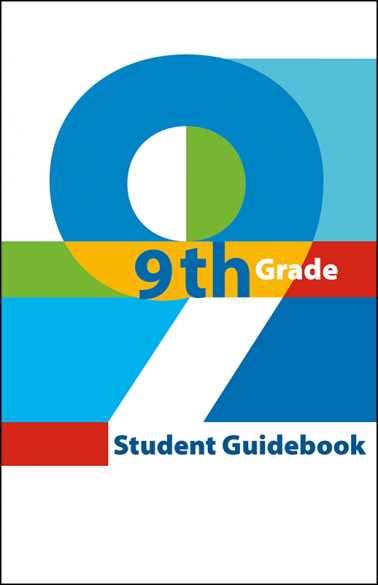 9th Grade Student Guidebook Booklet Handout
