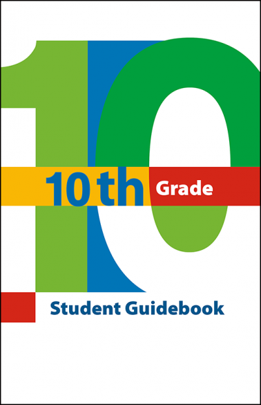 10th Grade Student Guidebook Booklet Handout