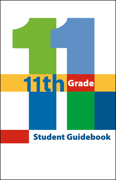 11th Grade Student Guidebook Booklet Handout