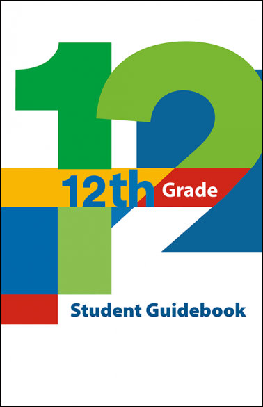 12th Grade Student Guidebook Booklet Handout
