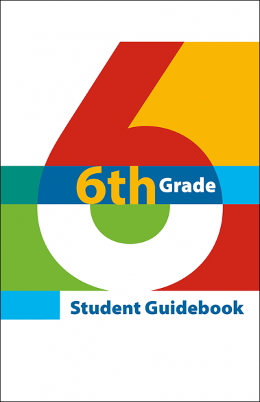 6th Grade Student Guidebook Booklet Handout
