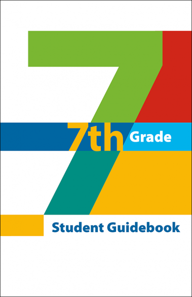 7th Grade Student Guidebook Booklet Handout