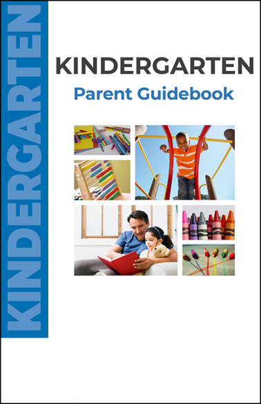 Kindergarten Parent Guidebook Booklet Handout