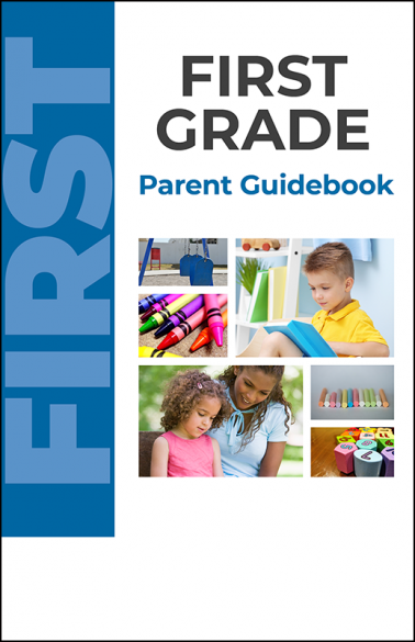 First Grade Parent Guidebook Booklet Handout