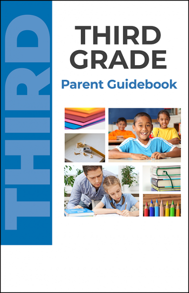 Third Grade Parent Guidebook Booklet Handout