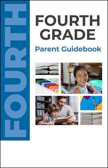 Fourth Grade Parent Guidebook Booklet Handout
