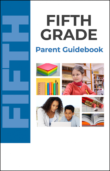 Fifth Grade Parent Guidebook Booklet Handout