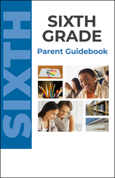 Sixth Grade Parent Guidebook Booklet Handout