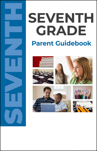Seventh Grade Parent Guidebook Booklet Handout