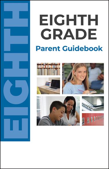 Eighth Grade Parent Guidebook Booklet Handout