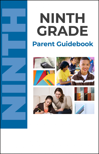 Ninth Grade Parent Guidebook Booklet Handout