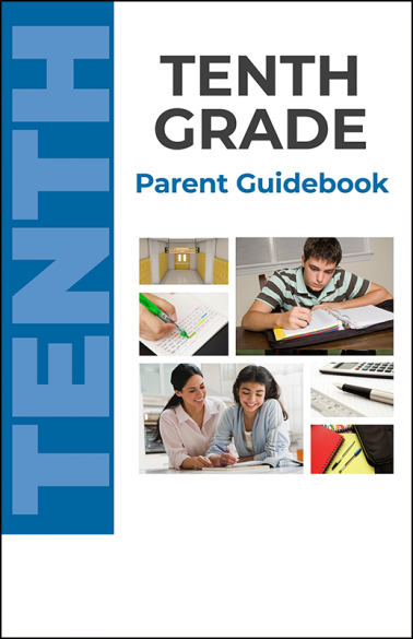 Tenth Grade Parent Guidebook Booklet Handout