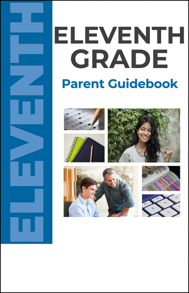 Eleventh Grade Parent Guidebook Booklet Handout