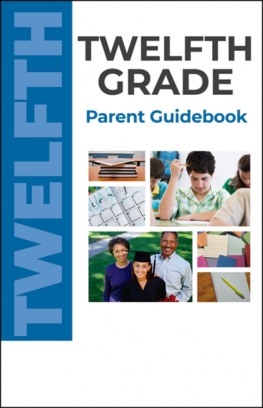 Twelfth Grade Parent Guidebook Booklet Handout