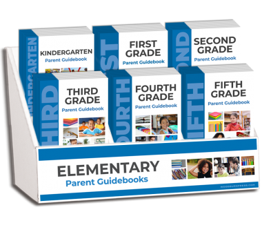 Elementary Parent Guidebooks K-Fifth Grade Display Package