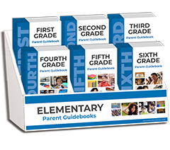 First -Sixth Grade Parent Guidebooks Display Package