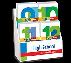 High School Student Guidebooks Display Package