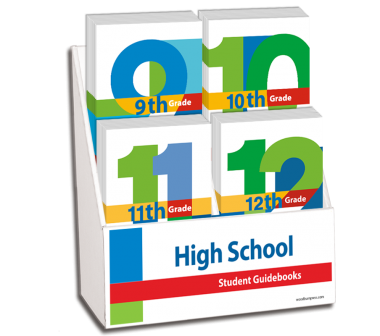 High School Student Guidebooks Display Package
