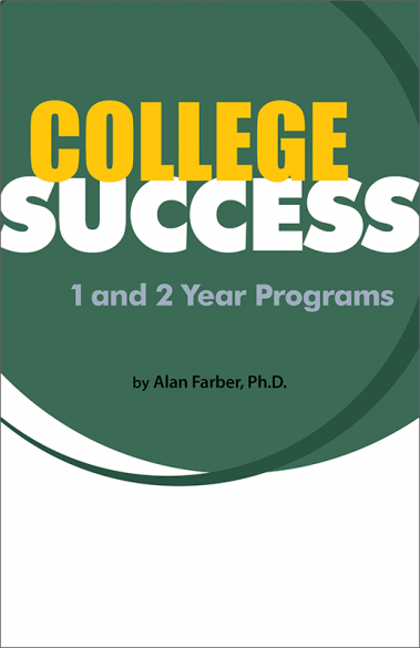 College Success - 1 and 2 Year Programs Booklet Handout