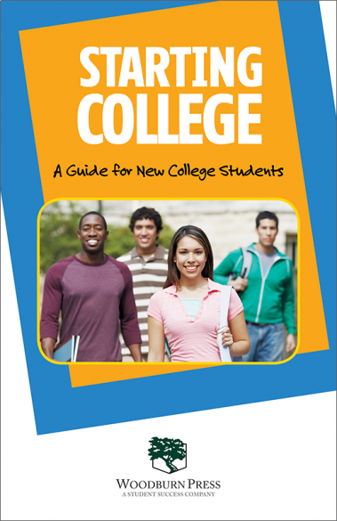 Starting College - A Guide for New College Students Booklet Handout