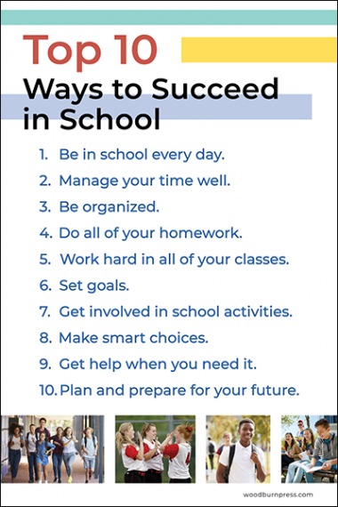 Top 10 Ways to Succeed in School