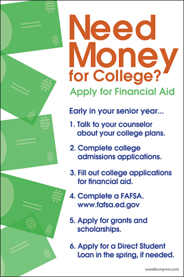Need Money for College Poster