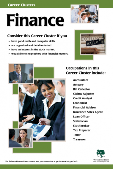 Career Clusters - Finance Poster